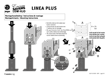 Manual Linea Plus feet